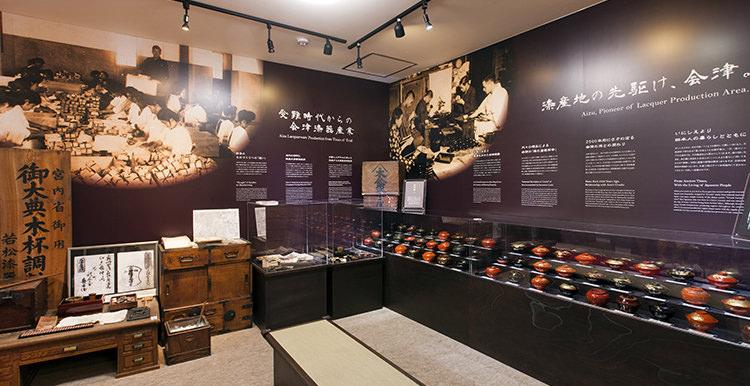展示1:会津塗りと鈴善の歴史