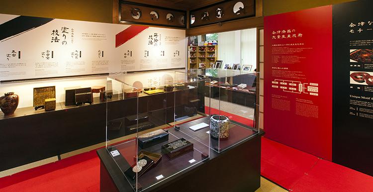 展示2:会津塗りの技術と技法