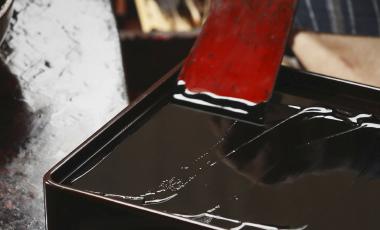 会津漆器の制作工程2